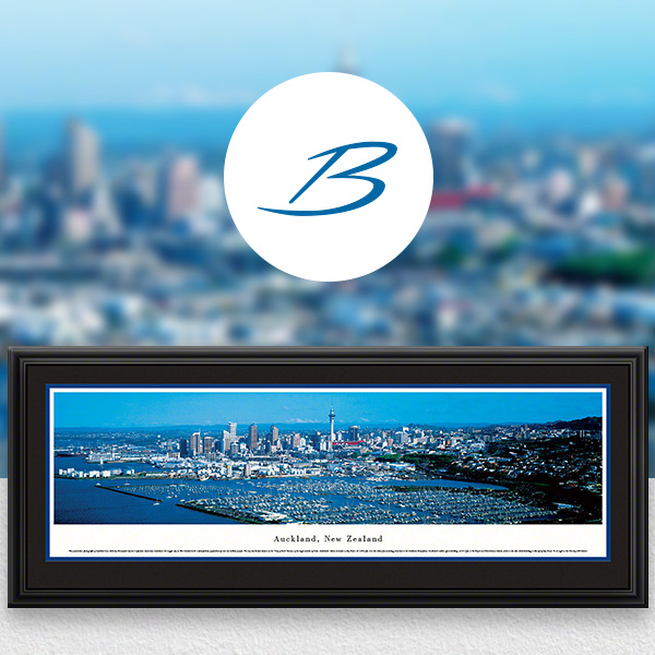 Auckland, New Zealand City Skyline Panoramic Wall Art