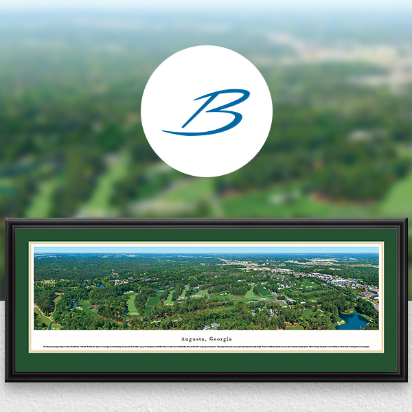 Augusta National Golf Club Scenic Panoramic Wall Art