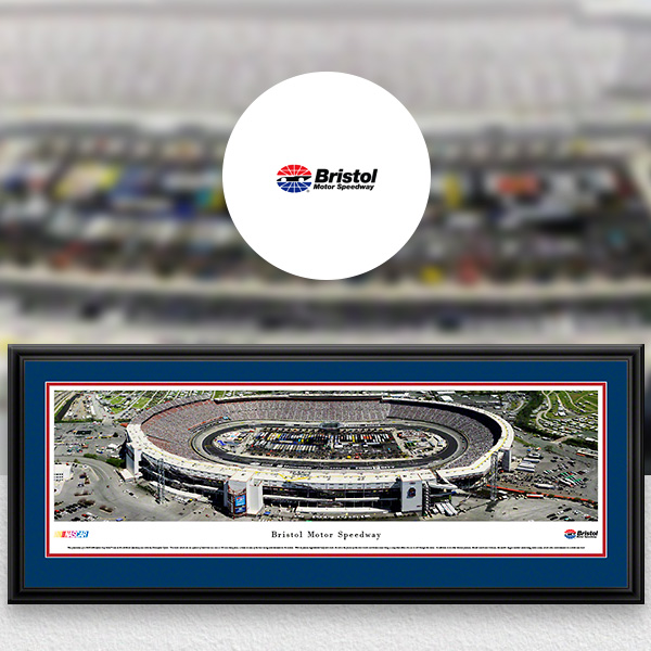 Bristol Motor Speedway NASCAR Panoramic Posters and Fan Cave Decor