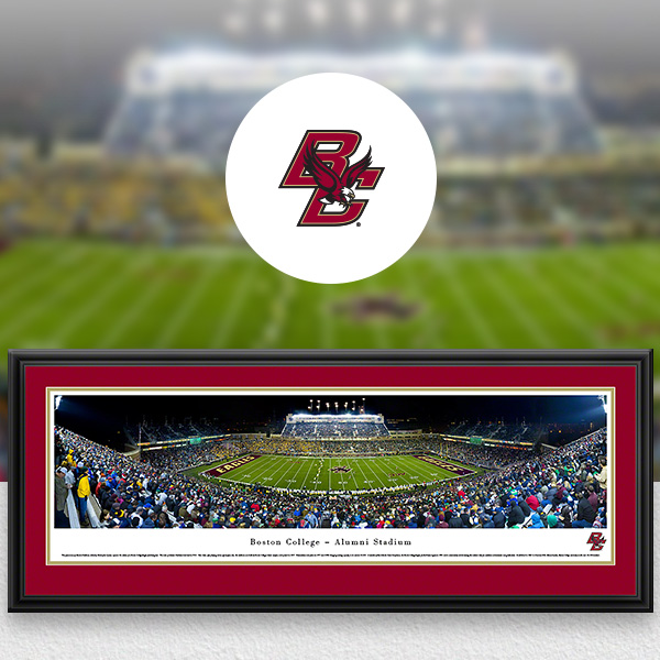Boston College Eagles Panoramic Posters and Fan Cave Decor