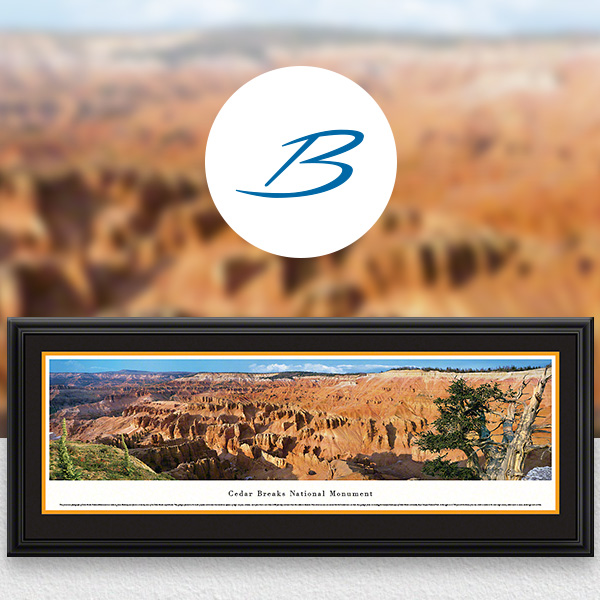 Cedar Breaks National Park Scenic Landscape Panoramic Wall Art