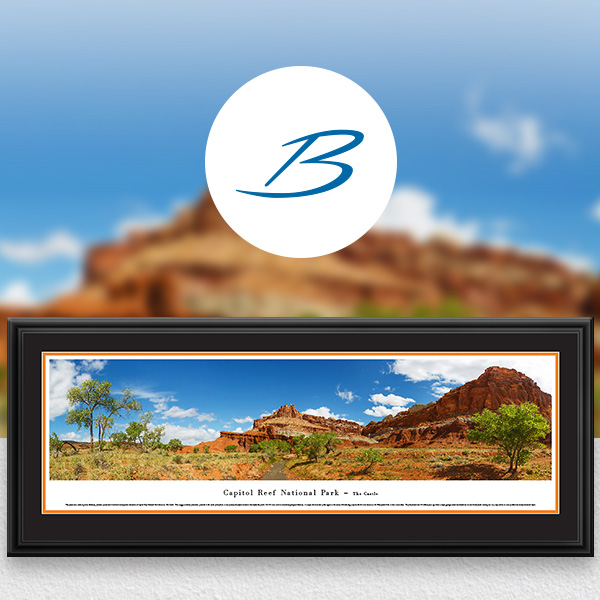 Capitol Reef National Park Scenic Landscape Panoramic Wall Art