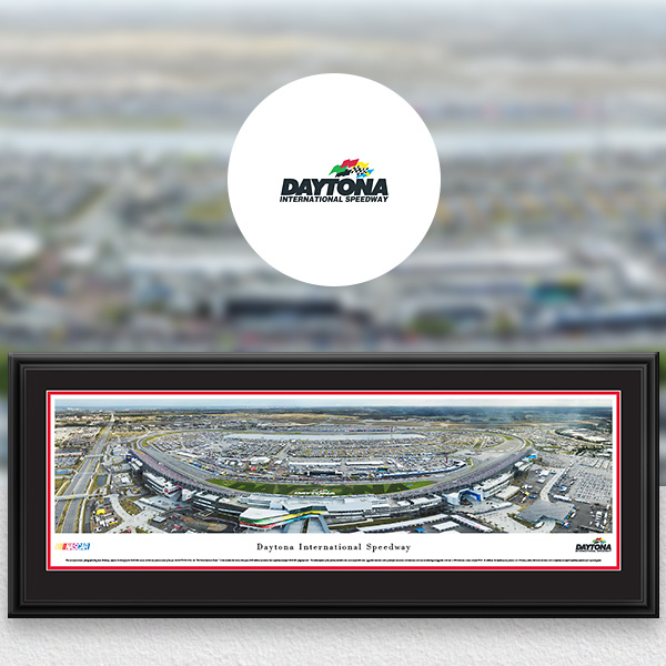 Daytona International Speedway NASCAR Panoramic Posters and Fan Cave Decor