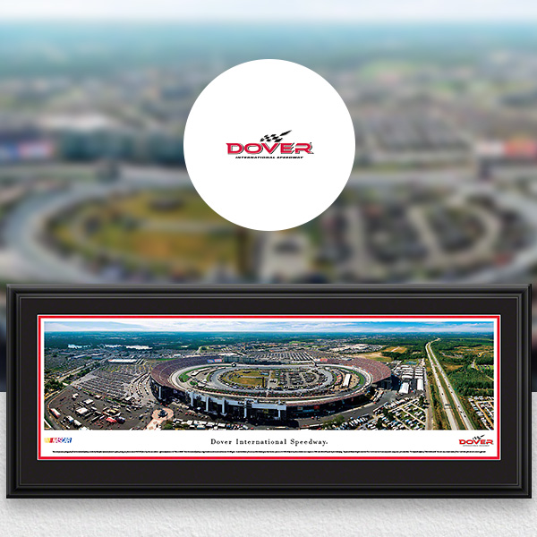 Dover International Speedway NASCAR Panoramic Posters and Fan Cave Decor