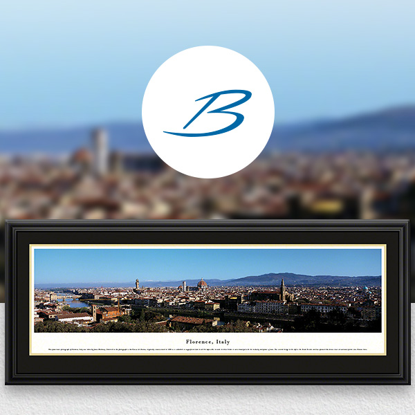 Florence, Italy City Skyline Panoramic Wall Art