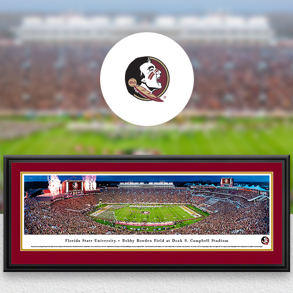 Florida State Seminoles Panoramic Posters and Fan Cave Decor