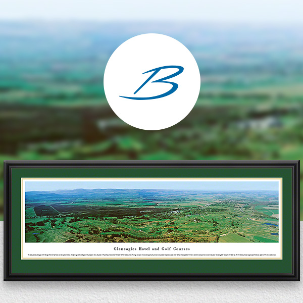 Gleneagles Golf Course Panoramic Wall Art