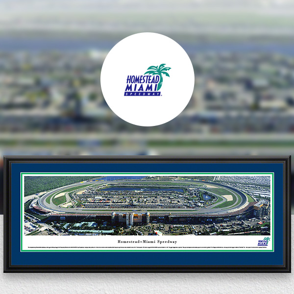 Homestead-Miami Speedway NASCAR Panoramic Posters and Fan Cave Decor