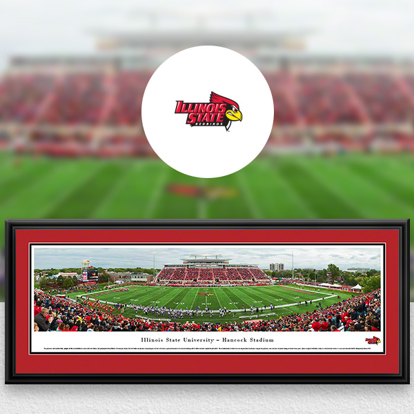 Illinois State Redbirds Panoramic Posters and Fan Cave Decor