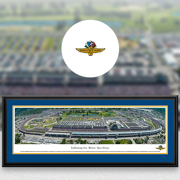 Indianapolis Motor Speedway NASCAR Panoramic Posters and Fan Cave Decor
