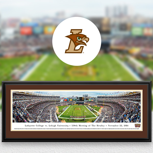 Lehigh Mountain Hawks Panoramic Posters and Fan Cave Decor