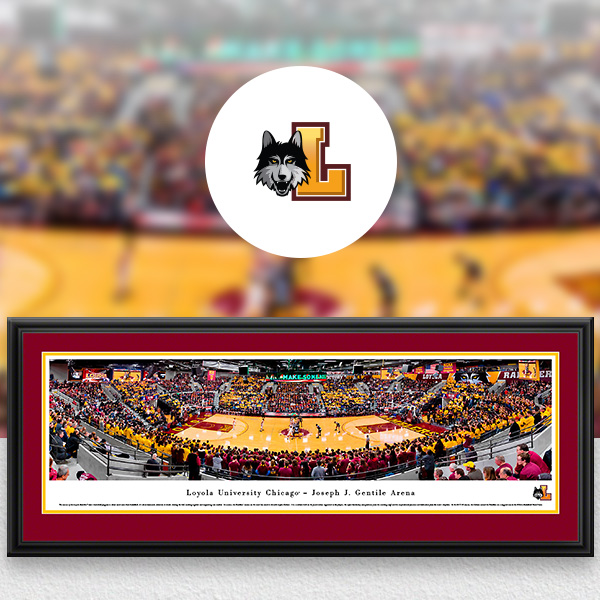 Loyola Ramblers Panoramic Posters and Fan Cave Decor