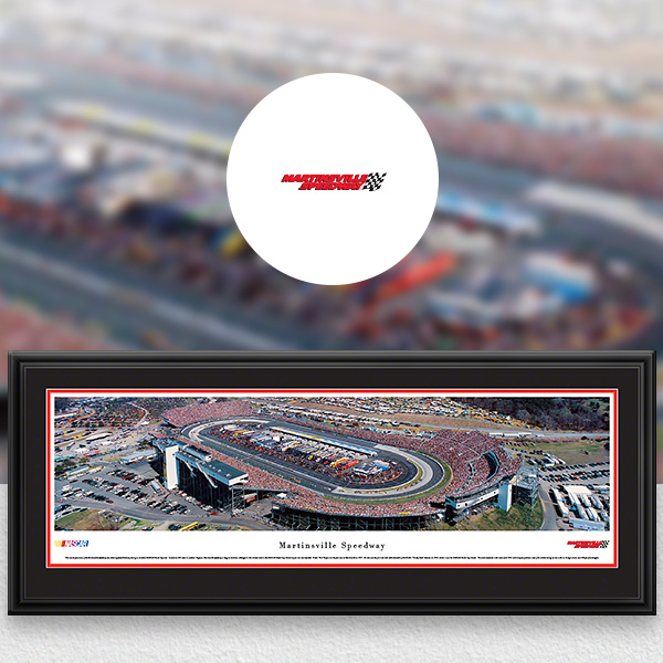 Martinsville Speedway NASCAR Panoramic Posters and Fan Cave Decor
