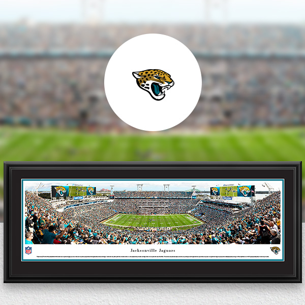 Jacksonville Jaguars Panoramic Posters and Fan Cave Decor