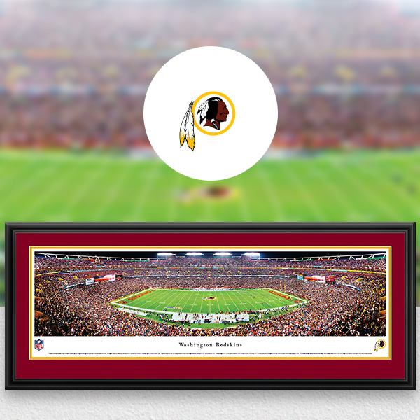 Washington Redskins Panoramic Posters and Fan Cave Decor