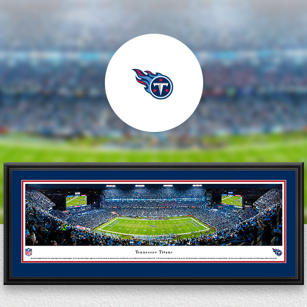 Tennessee Titans Panoramic Posters and Fan Cave Decor