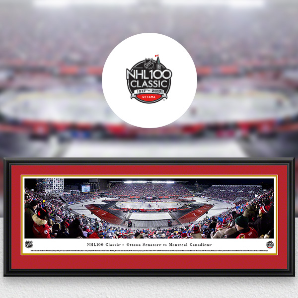 NHL 100 Classic Panoramic Posters and Fan Cave Decor