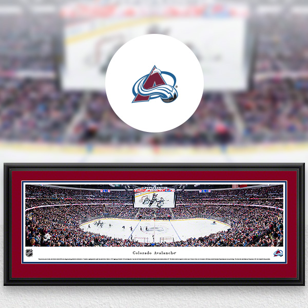 NHL Colorado Avalanche Panoramic Posters and Fan Cave Decor