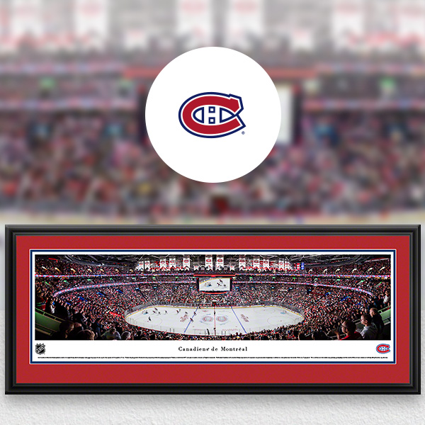 Montreal Canadiens Panoramic Posters and Fan Cave Decor