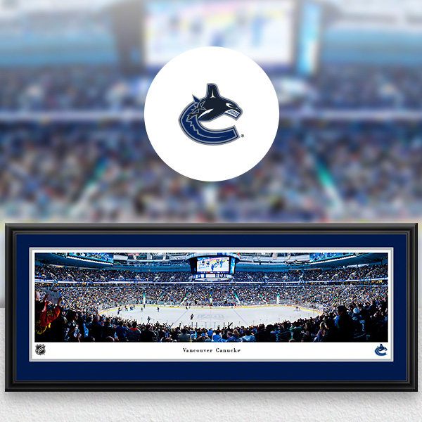 Vancouver Canucks Panoramic Posters and Fan Cave Decor