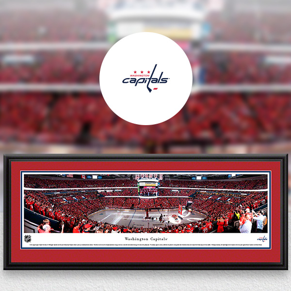 Washington Capitals Panoramic Posters and Fan Cave Decor