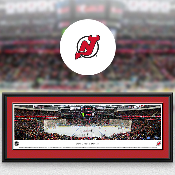 New Jersey Devils Panoramic Posters and Fan Cave Decor