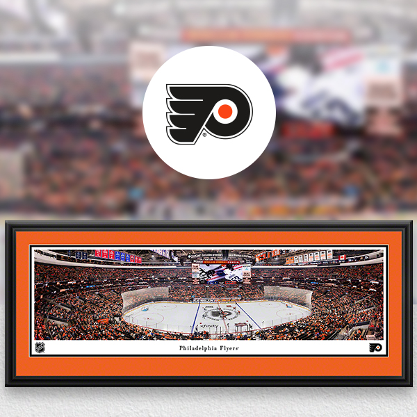 Philadelphia Flyers Panoramic Posters and Fan Cave Decor