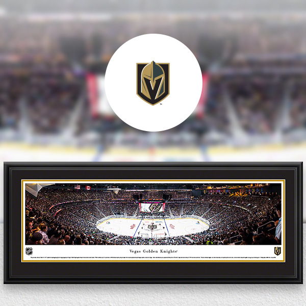 Vegas Golden Knights Panoramic Posters and Fan Cave Decor