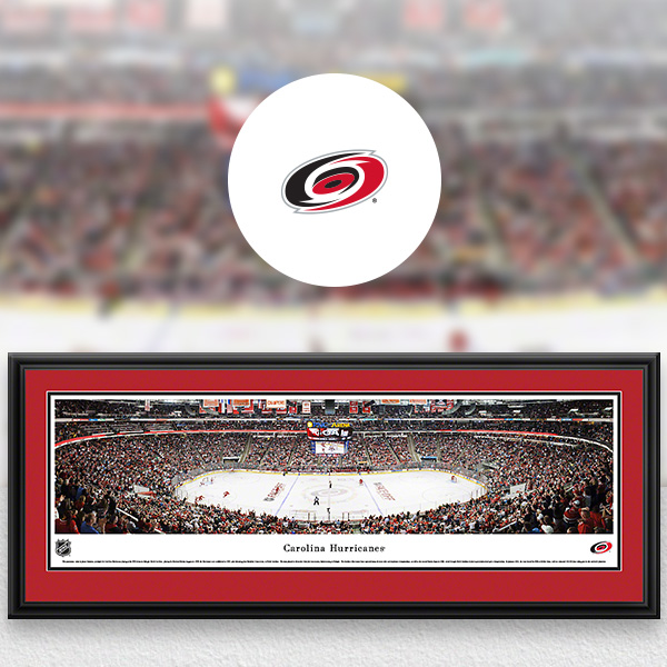 Carolina Hurricanes Panoramic Posters and Fan Cave Decor