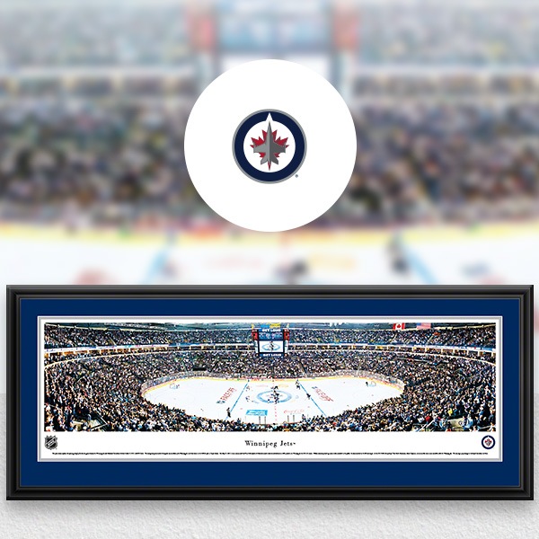 Winnipeg Jets Panoramic Posters and Fan Cave Decor
