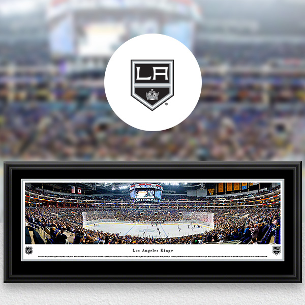 Los Angeles Kings Panoramic Posters and Fan Cave Decor