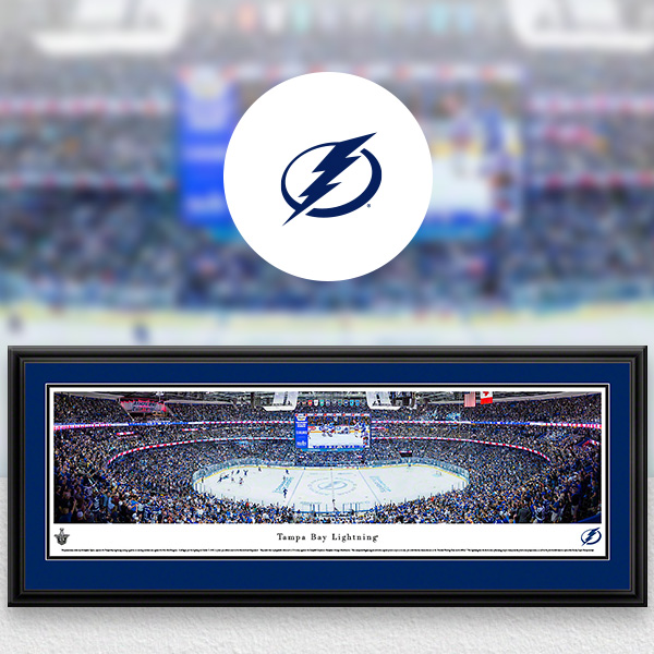 Tampa Bay Lightning Panoramic Posters and Fan Cave Decor