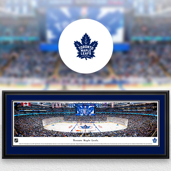 Toronto Maple Leafs Panoramic Posters and Fan Cave Decor