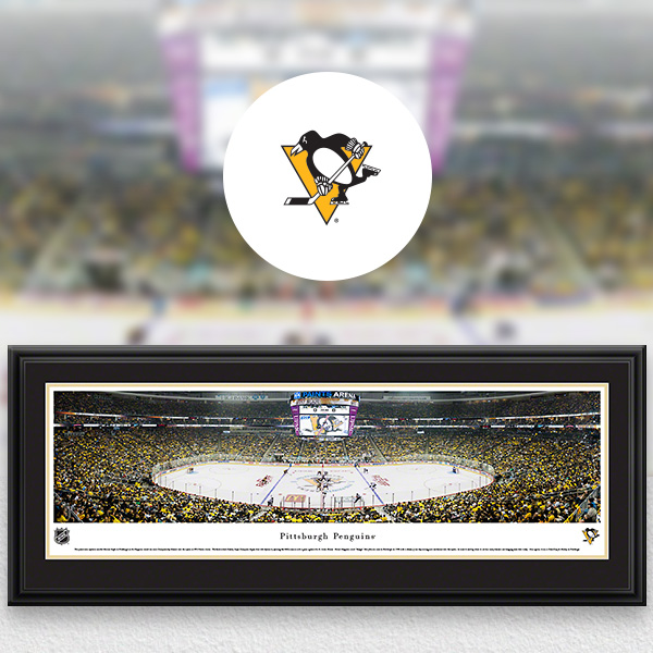 Pittsburgh Penguins Panoramic Posters and Fan Cave Decor