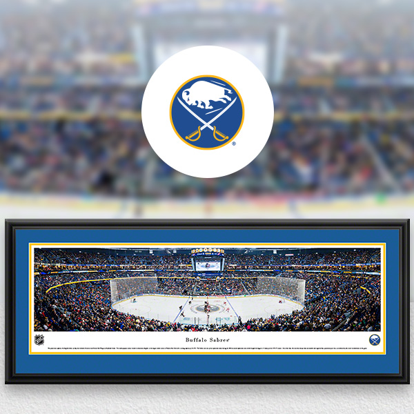 Buffalo Sabres Panoramic Posters and Fan Cave Decor