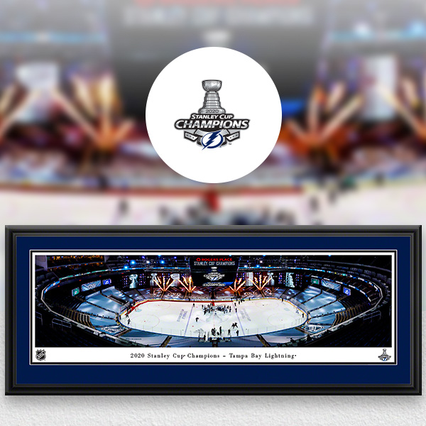 NHL Stanley Cup Panoramic Posters and Fan Cave Decor