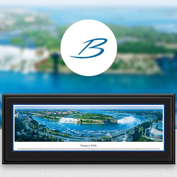 Niagara Falls World Attractions Panoramic Wall Art