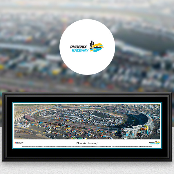 Phoenix Raceway NASCAR Panoramic Posters and Fan Cave Decor
