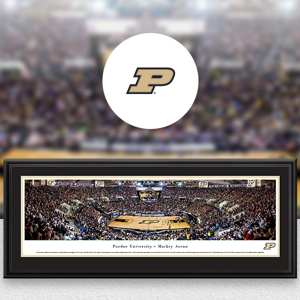 Purdue Boilermakers Panoramic Posters and Fan Cave Decor