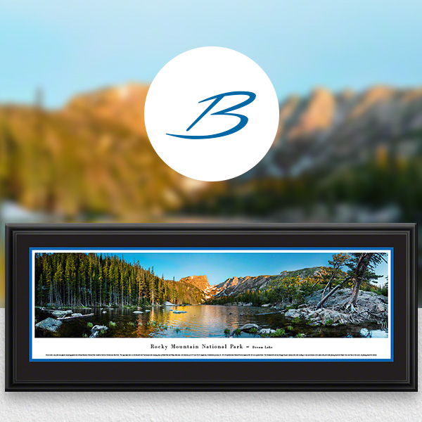 Rocky Mountain National Park Scenic Landscape Panoramic Wall Art