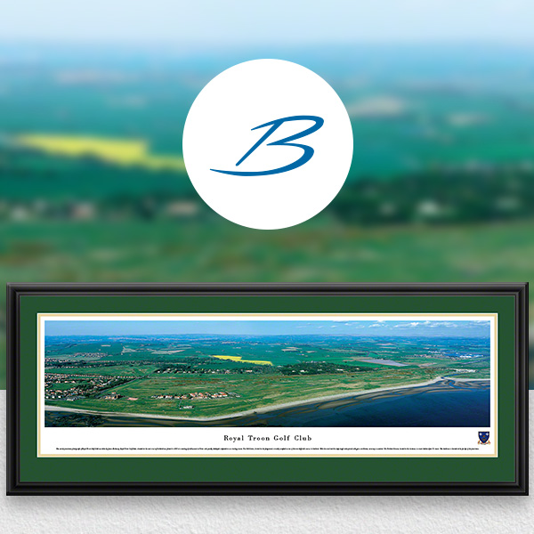 Royal Troon Golf Club Panoramic Wall Art