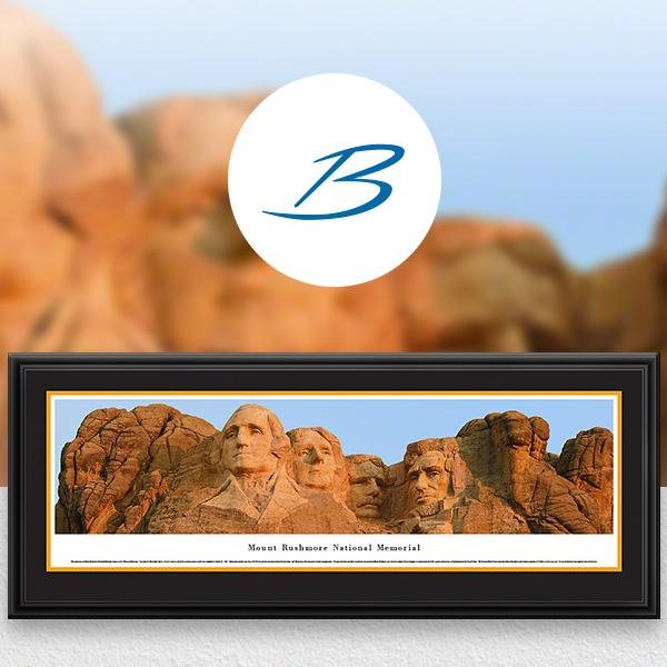 Mount Rushmore National Memorial Scenic Landscape Panoramic Wall Art