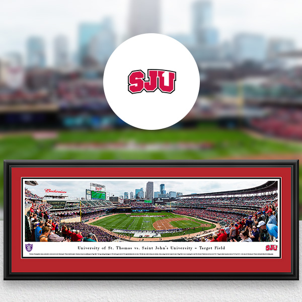Saint John's Johnnies Panoramic Posters and Fan Cave Decor