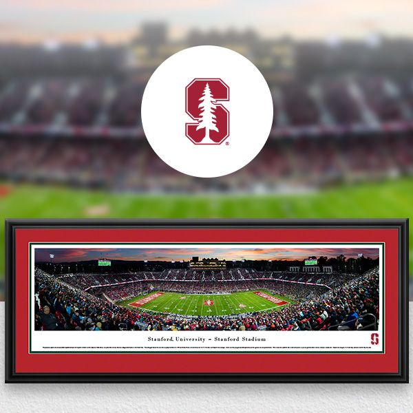 Stanford Cardinal Panoramic Posters and Fan Cave Decor