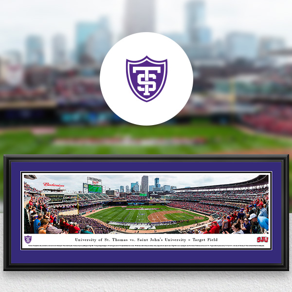 St. Thomas Tommies Panoramic Posters and Fan Cave Decor