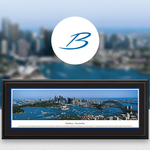 Sydney, Australia City Skyline Panoramic Wall Art