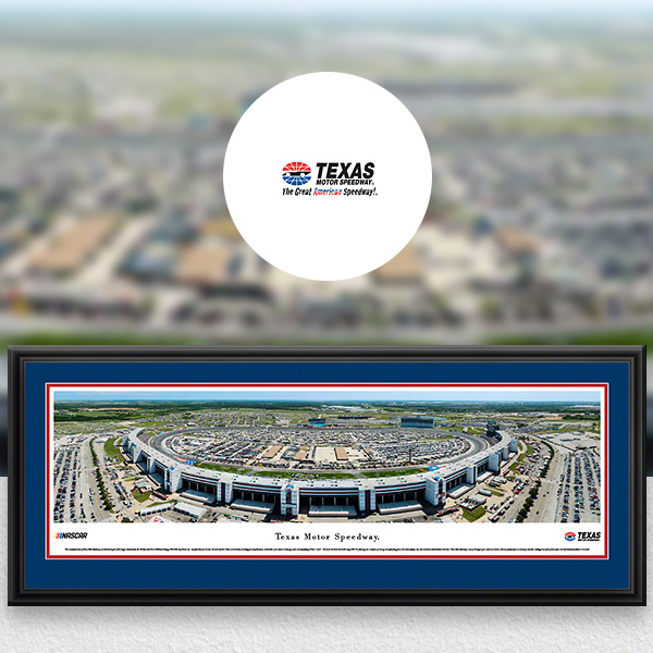 Texas Motor Speedway NASCAR Panoramic Posters and Fan Cave Decor