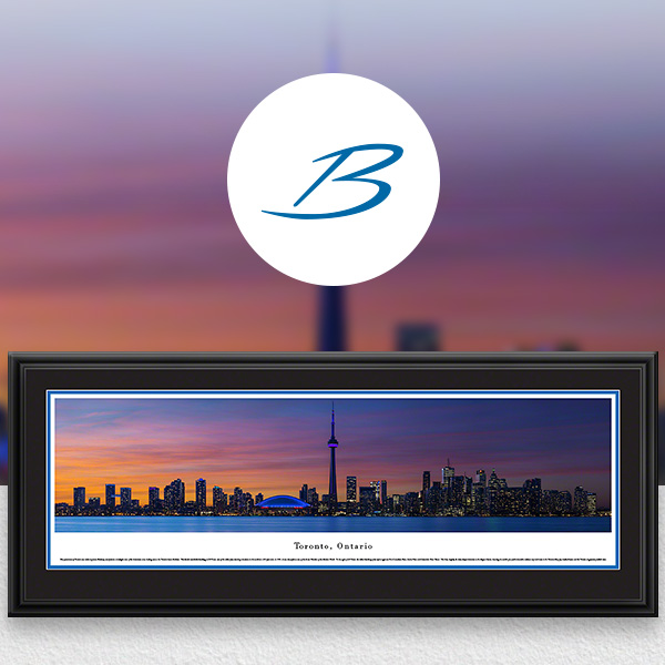 Toronto, Ontario, Canada City Skyline Panoramic Wall Art