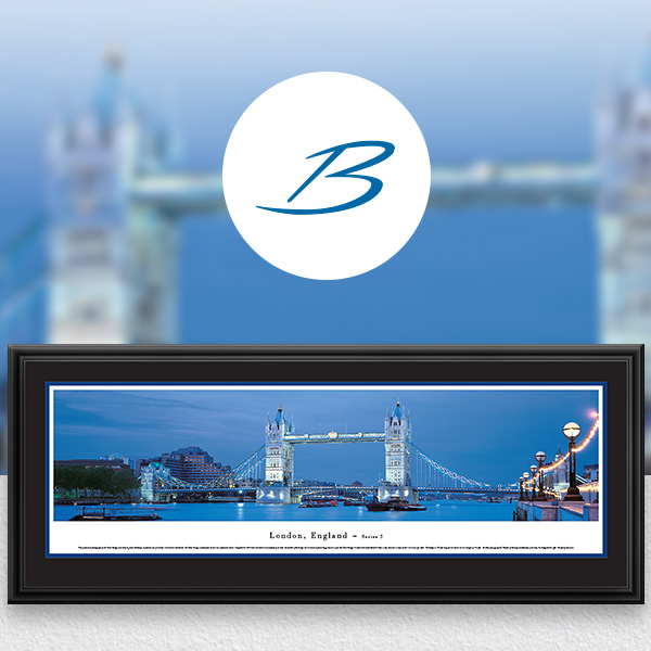 Tower Bridge, London City Skyline Panoramic Wall Art