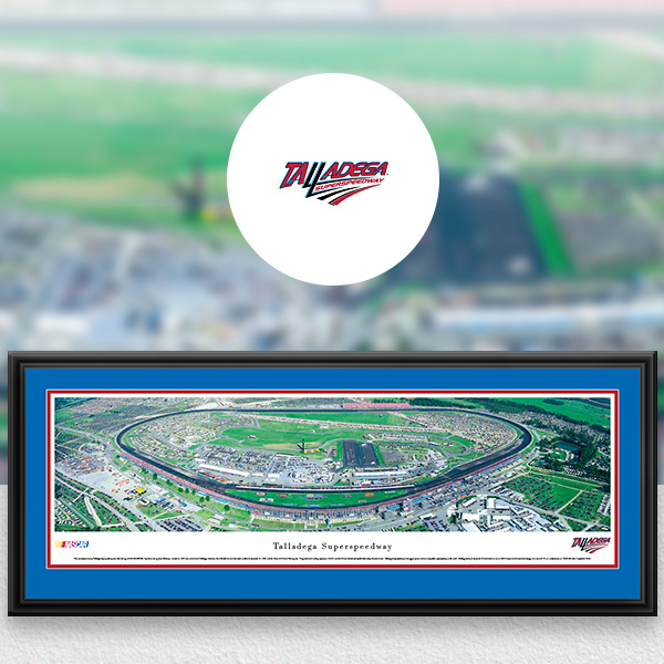 Talladega Superspeedway NASCAR Panoramic Posters and Fan Cave Decor